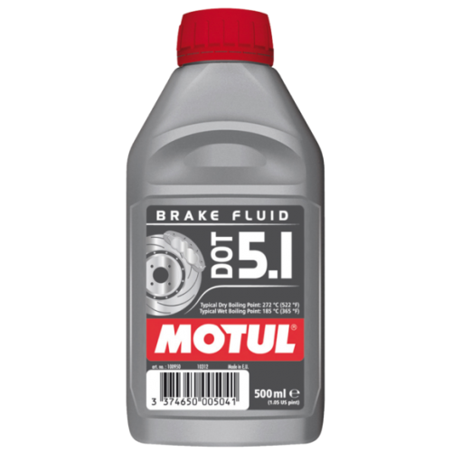 MOTUL DOT 5.1 Brake Fluid, 0.5 литра