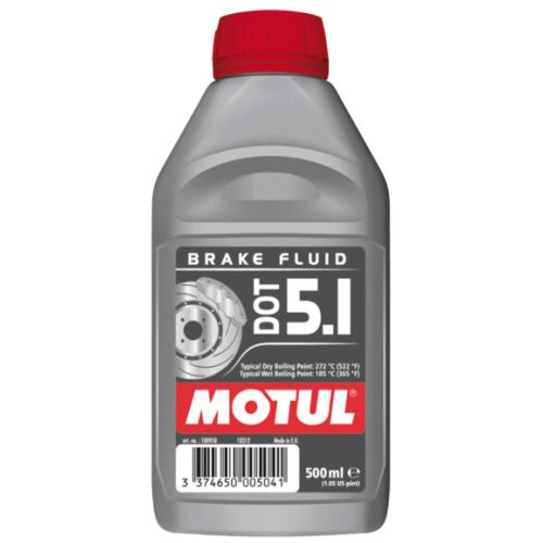 MOTUL DOT 5.1 Brake Fluid, 0.5 литра