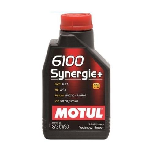 Motul 6100 Synergie+ 5W-30, 1 литр