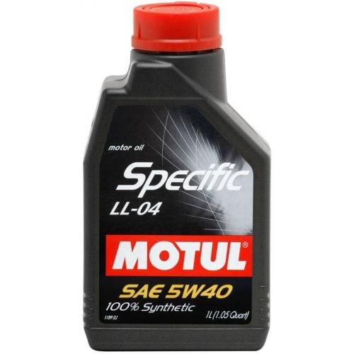 MOTUL Specific LL-04 5W-40, 1 литр