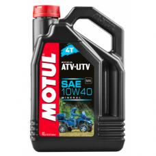 MOTUL ATV-UTV 4T 10W40 MA, 4 литра