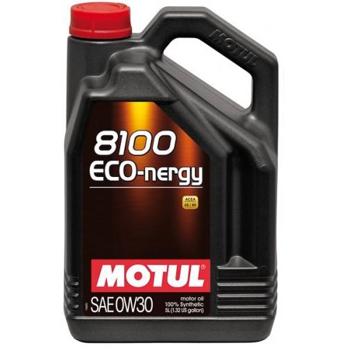 MOTUL 8100 Eco-nergy 0W-30, 5 литров