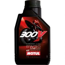 MOTUL 300V 4T FL ROAD RACING 5W-30, 1 литр