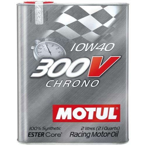 MOTUL 300V Chrono 10W-40, 2 литра
