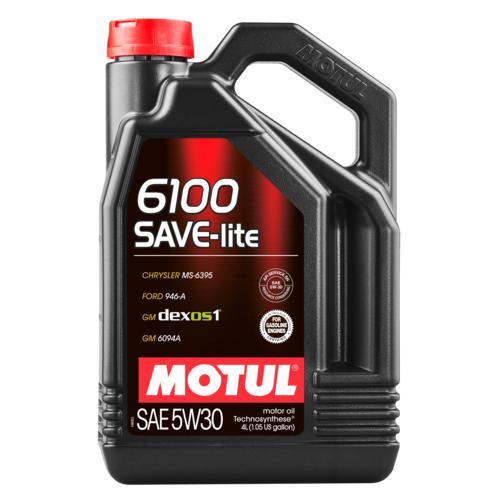 MOTUL 6100 SAVE-lite 5W-30, 4 литра