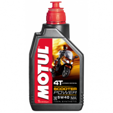 MOTUL Scooter Power 4T MA 5W-40, 1 литр
