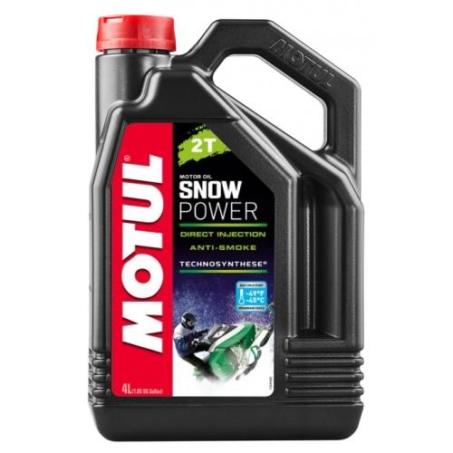 MOTUL Snowpower 2T, 4 литра