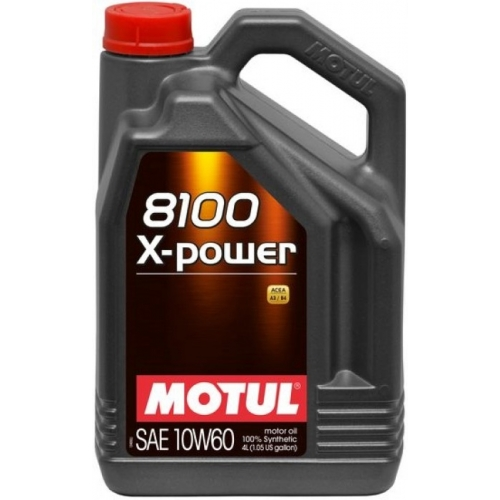Motul 8100 X-Power 10W-60, 4 литра