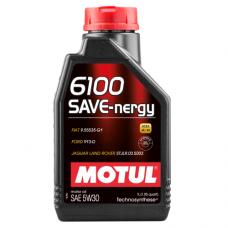 MOTUL 6100 SAVE-nergy 5w-30, 1 литр