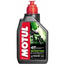 MOTUL Scooter Expert 4T 10W-40 MB, 1 литр