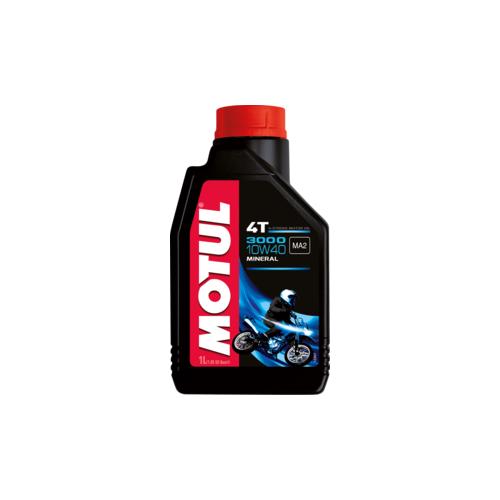 MOTUL 3000 4T 10W40, 4 литра