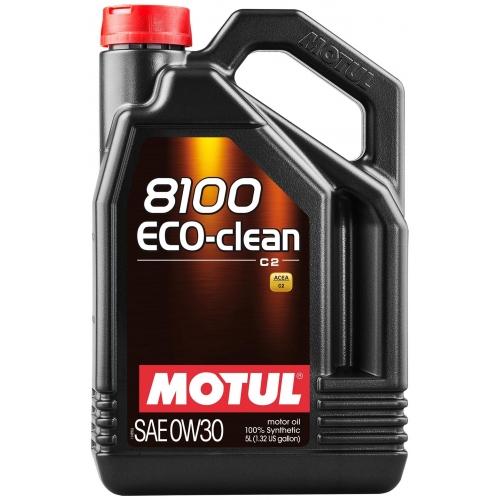 MOTUL 8100 Eco-clean 0W-30, 5 литров