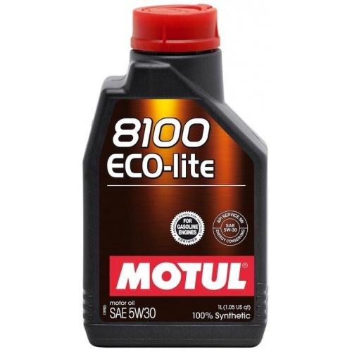 MOTUL 8100 Eco-lite 5W-30, 1 литр