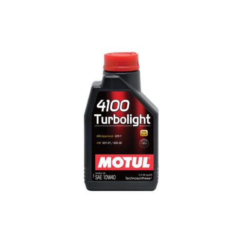 MOTUL 4100 Turbolight 10W-40, 1 литр