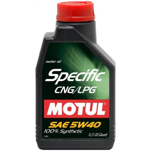 MOTUL Specific CNG/LPG 5W-40, 1 литр