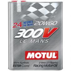 MOTUL 300V Le Mans 20W-60, 2  литра