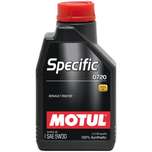 MOTUL Specific 0720 5W30, 1 литр