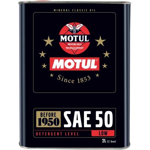 MOTUL Classic Oil 50, 2 литра