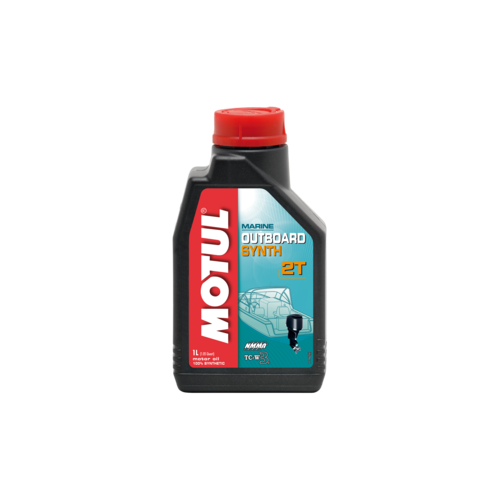 MOTUL OUTBOARD SYNTH 2T, 1 литр