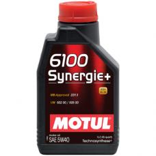 Motul 6100 Synergie+ 5W40, 1 литр