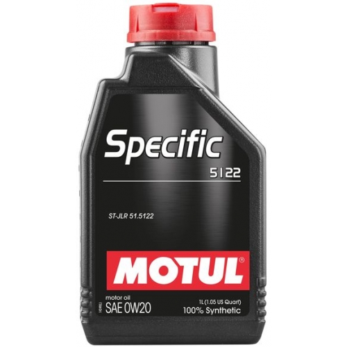 MOTUL Specific 5122 0W20, 1 литр