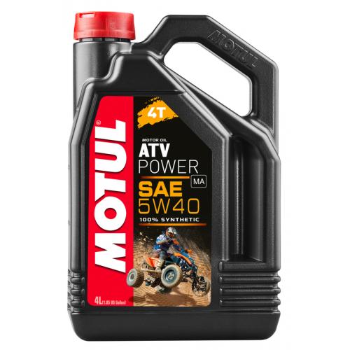 MOTUL ATV POWER 4T 5W40 MA, 4 литра