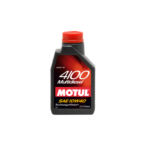 MOTUL 4100 Multi Diesel 10W-40, 5 литров