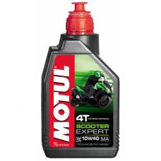 MOTUL Scooter Expert 4T 10W40 MA,1 литр