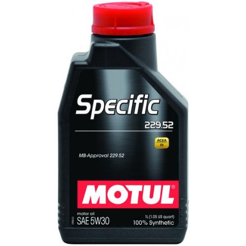 MOTUL Specific 229.52 5W-30, 1 литр