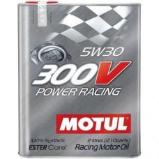 MOTUL 300V Power Racing 5W-30, 2 литра