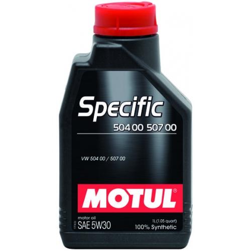 MOTUL Specific 504 00 / 507 00 5W-30, 1 литр