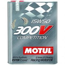 MOTUL 300V Competition 15W-50, 2 литра