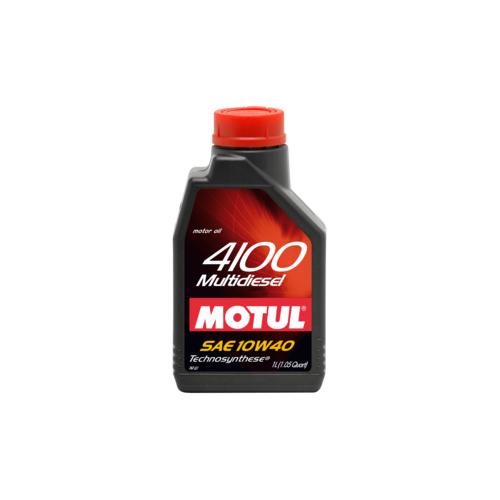 MOTUL 4100 Multi Diesel 10W-40, 1 литр