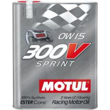 MOTUL 300V Sprint 0W-15, 2 литра