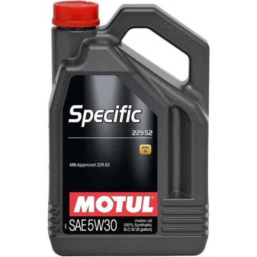 MOTUL Specific 229.52 5W-30, 5 литров