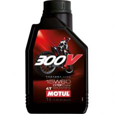 MOTUL 300V 4T OFF ROAD 15W-60, 1 литр