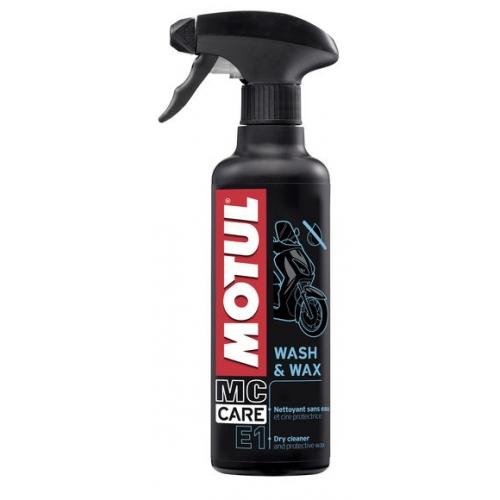 MOTUL E1 Wash & Wax, 0.4 литра