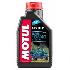 MOTUL ATV-UTV 4T 10W40 MA, 1 литр