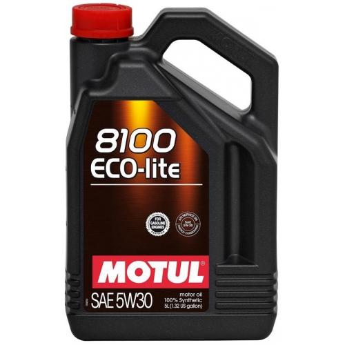 MOTUL 8100 Eco-lite 5W-30, 5 литров