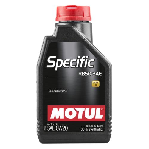 MOTUL Specific RBS0-2AE 0W-20, 1 литр
