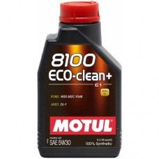 MOTUL 8100 Eco-clean+ 5W-30 (C1), 1 литр