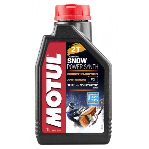 MOTUL Snowpower synth 2T, 1 литр