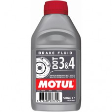MOTUL DOT 3 & 4 Brake Fluid, 0.5 литра