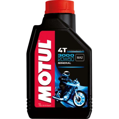 MOTUL 3000 4T 20W-50, 1 литр