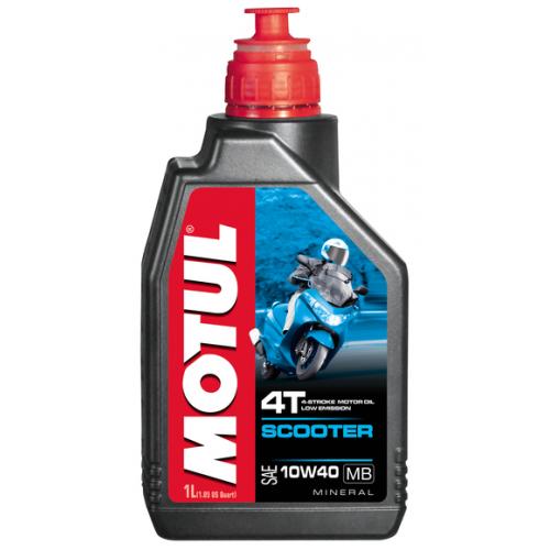 MOTUL Scooter 4T 10W40 MB, 1 литр