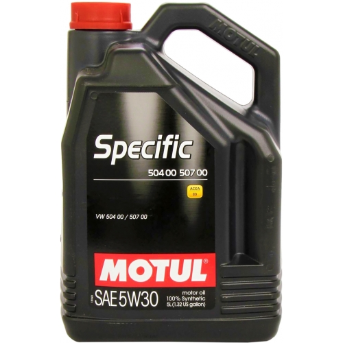 MOTUL Specific 504 00 / 507 00 5W-30, 5 литров
