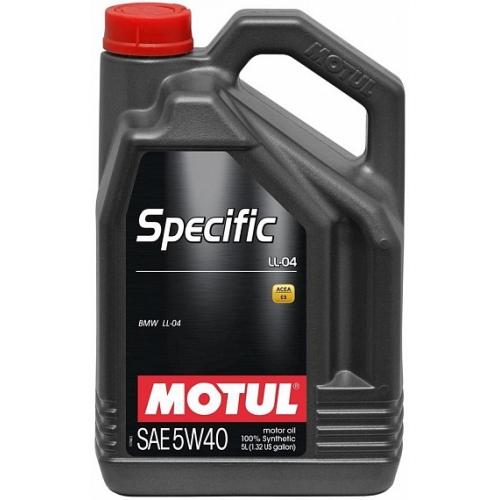 MOTUL Specific LL-04 5W-40, 5 литров