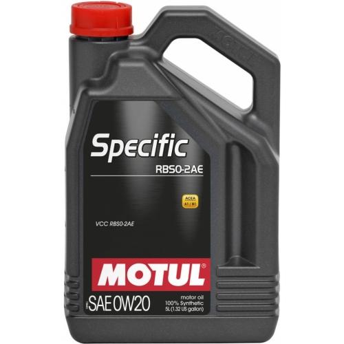 MOTUL Specific RBS0-2AE 0W-20, 5 литров