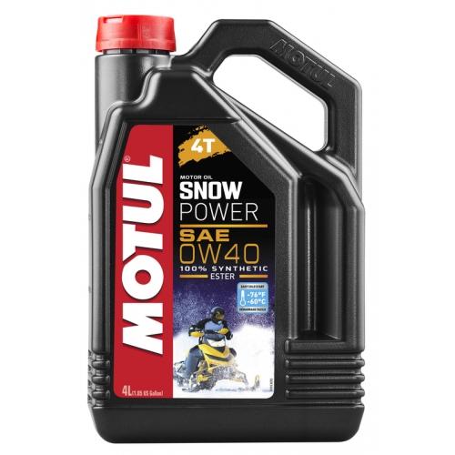 MOTUL Snowpower 4T 0W-40, 4 литра