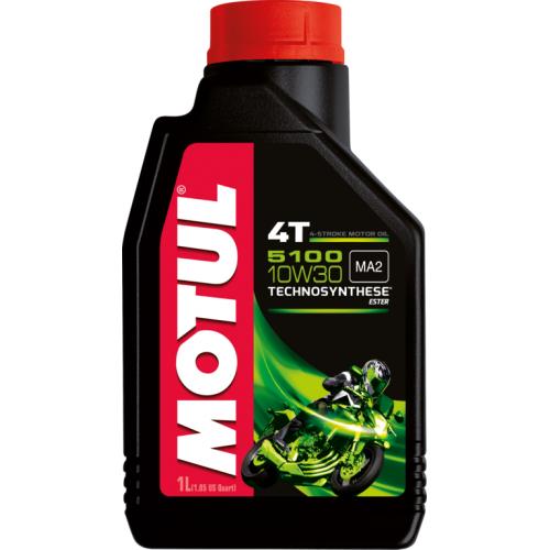 MOTUL 5100 4T 10W-30, 4 литра